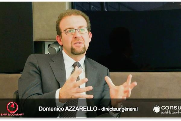 Interview vidéo de Domenico Azzarello, DG de Bain & Company France