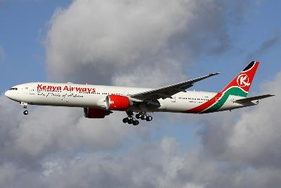 kenya airways boeing 777-300er 5y 2014-02-16