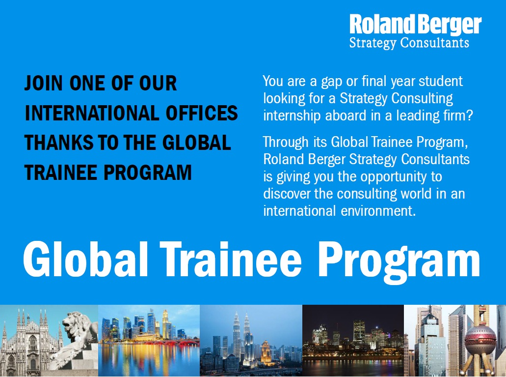 roland berger global trainee program