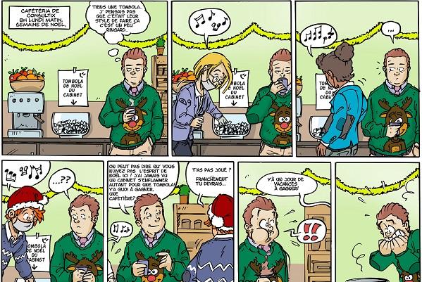 La vie de stratège en BD — Épisode 3 : Joyeux Noël !