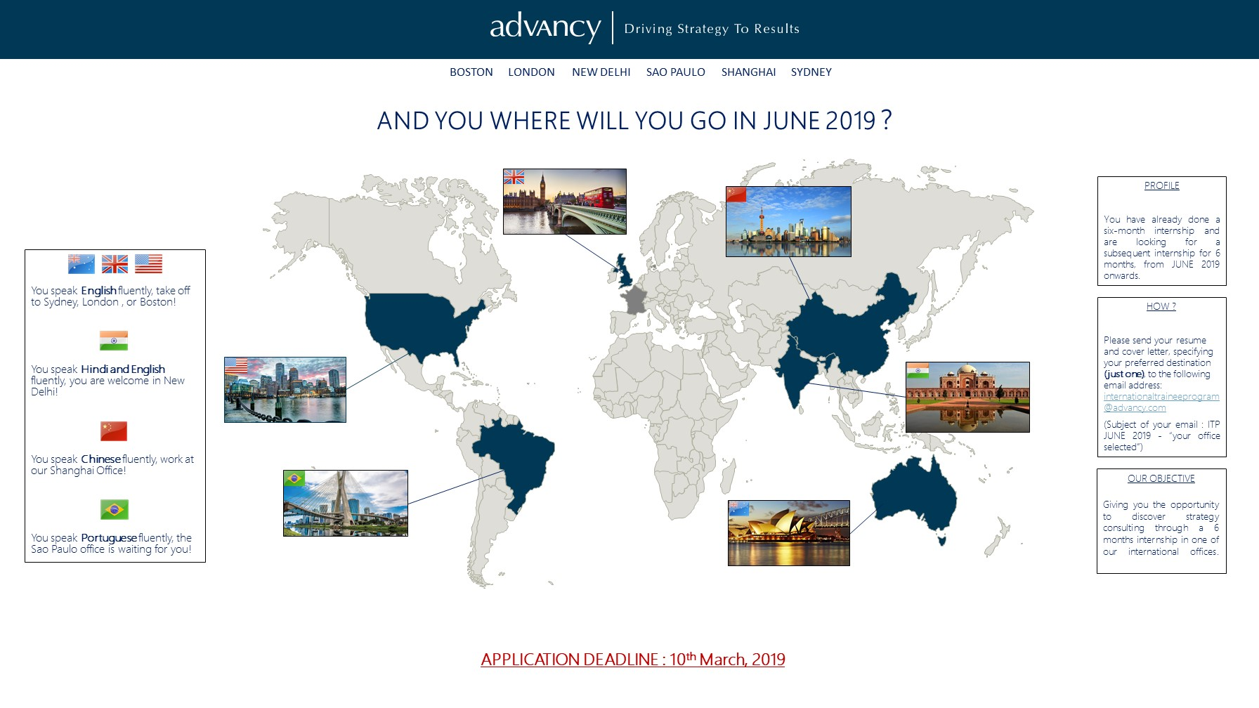 Advancy ITP JUNE 2019