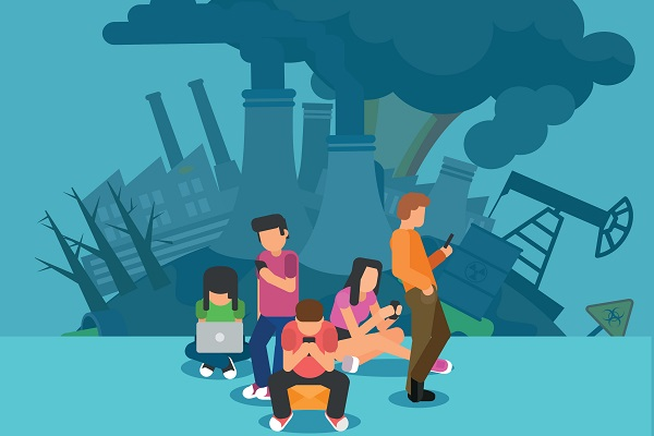 Internet, smartphones, tablettes : cette pollution qui monte