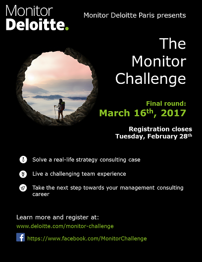 monitor challenge flyer consultor