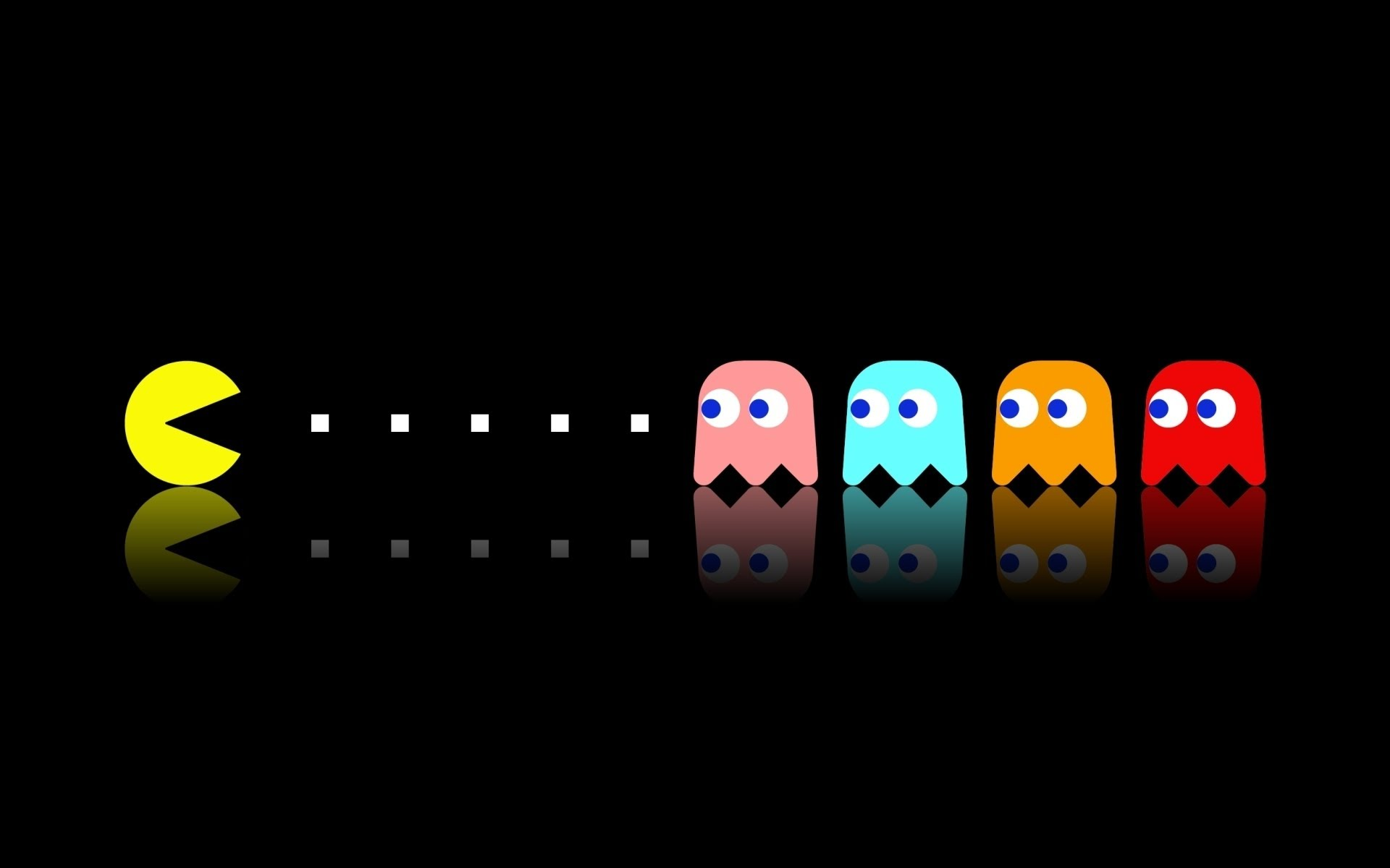 pacman ghosts
