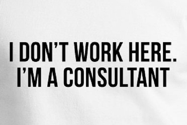 i dont work here im a consultant